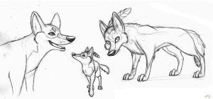 Suski Sketches by SocksTheMutt
