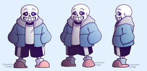 ut! sans ref sheet by Stereotyped-Orange