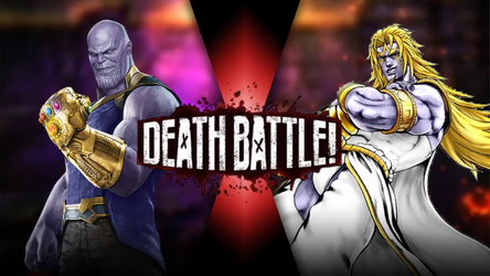 Thanos vs Heaven Ascension DIO by Antogames