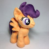 Plushie Scootaloo with Cutiemark by Burgunzik
