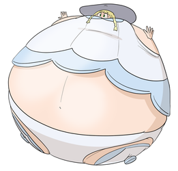 Lillie (Pokemon Sun - Moon) inflated by JuacoProductionsArts