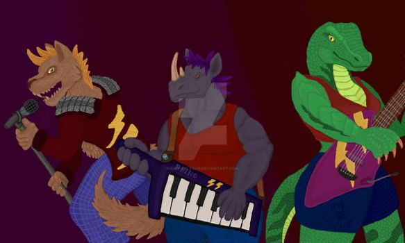Rock Band by fishwolf2215