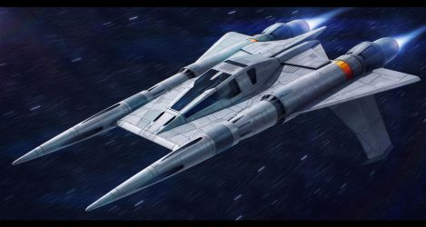 Buck Rogers - Thunderfighter remaster by AdamKop