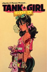 Tank Girl Gold #3 Cover by blitzcadet