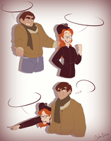 Brotherly Conversations (What are we saying?) by Chrissyissypoo19