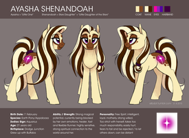 2015 Ayasha Reference Sheet by elbdot