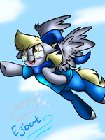 Derpy Egbert by voidless-rogue