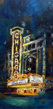 The Chicago Theater by thecip
