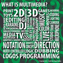 What is Multimedia by pmspratik