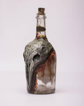 The Raven Bottle by FraterOrion