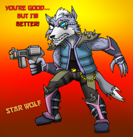CANT LET YOU DO THAT STAR FOX by Internet-Ninja