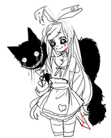 :: alice sketch :: by Costly