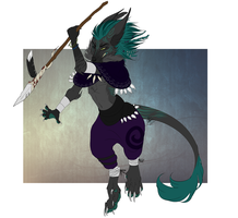 Offer To Adopt :: Tribal Vernid CLOSED by AtomicMilkshake
