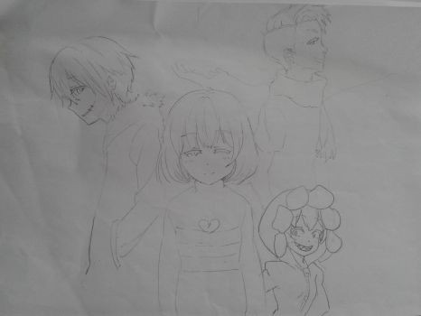 Undertale Anime Design  by Jethroxas13