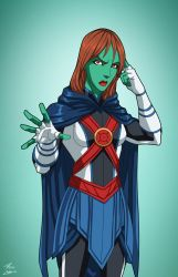 Miss Martian (Earth-27) commission by phil-cho