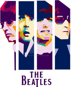The Beatles by mrtypo11