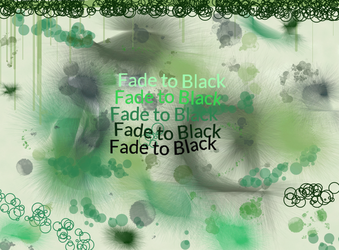 fade to black by Bluebellwriter7