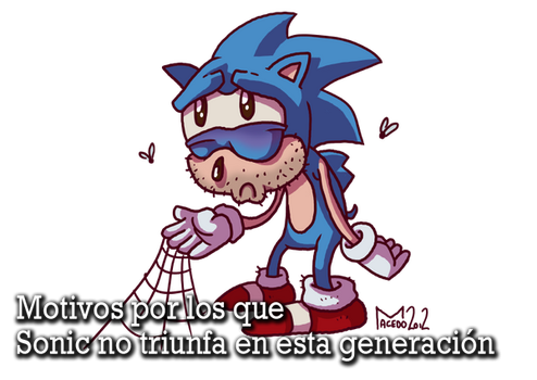 Sonic isn't at its best by SpearGames