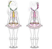 Snow Halation Costumes (Export) by AuroraDazzling