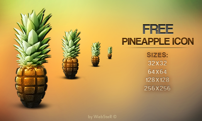 Pineapple Icon by Web5teR