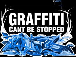 Graffiti cant be stopped! by popzz