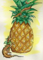ArtCrossing 3: Pineapple Dragons by Lucky101212
