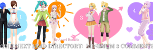 MMD DL Directory 9 [+ Pose Pack DL] by Angela-16