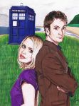 The Doctor and Rose by Mason44