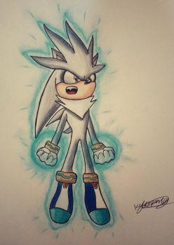 Silver The Hedgehog  by Luxrainion