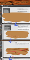 'Cracked' ground tutorial by Drytil