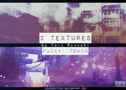 [Texture Pack #1] 2 Large Textures: Towns by ChjpEXOTICHH