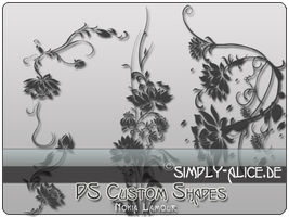 Lamour Lotus Shapes for PS by crazy-alice