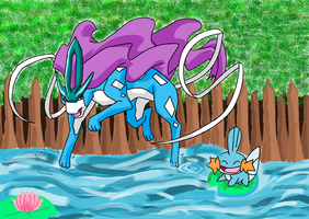 Suicune and Mudkip~
