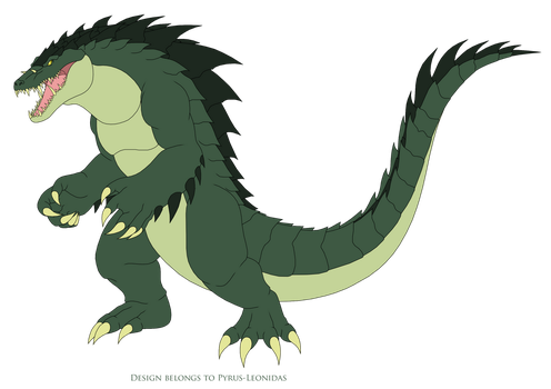 Lizzie the Crocodile 2018 by Pyrus-Leonidas