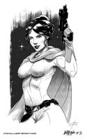Leia inktober #3 by Aioras