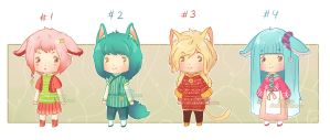 [Close] Adopt: Chibiks 2 (1,5$ or 150pt) by Ksanya