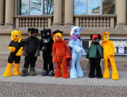 MLP Fursuit Walk - Meetup 2015 by AtalontheDeer