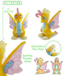 Sundancer Plush Collage by PlanetPlush