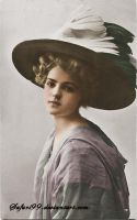 Young Edwardian Lady by MemoriesOfTime97
