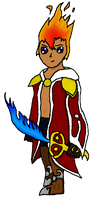 Firion - Colored OC by Go-GoBarril