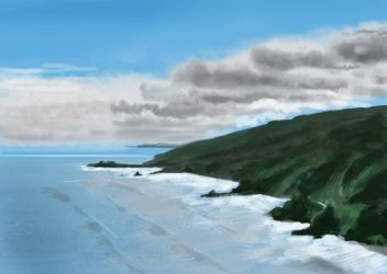 landscape study again by Donkeywong