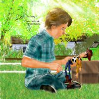 Toy Story 3 -  When Andy finds Woody by DianaKristina