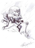 New M.O.D.O.K. sketch by elena-casagrande