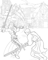 Medieval Clash: Lines by Miserie