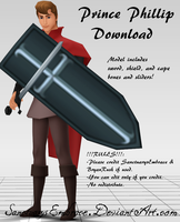 {MMD DOWNLOAD} Prince Phillip by MariCorsair