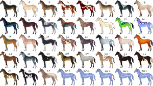 35 horses Auction [17/35][OPEN] by TheAdoptArtist