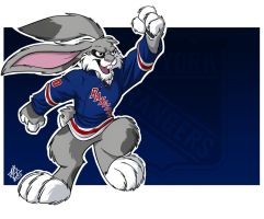 New York Rangers: Buck Bunny by jmh3k