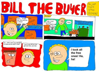 Bill the Buyer half page by Jsb97