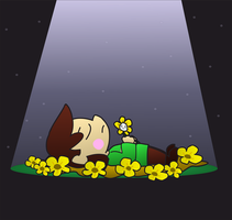 (Request) Golden Flowers by ILOVEGIR64