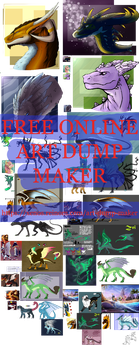 Art dump maker (free online website) by DragonsTEQ